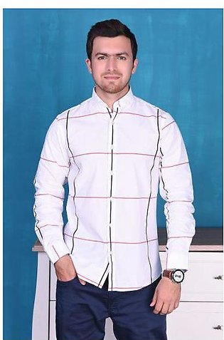 SHIRT CASUAL GTS-3661 WHITE