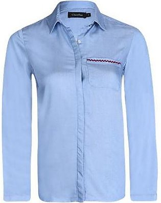 LDS-5334 DENIM SHIRT