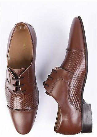 SHOES MS-276-BROWN