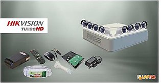 HIKVISION CCTV Cam Package 8 Cameras with 8Channel