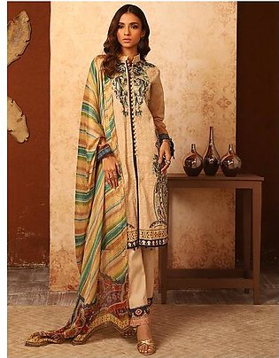 Khas Unstitched Lawn Collection Citaded KSE - 8030
