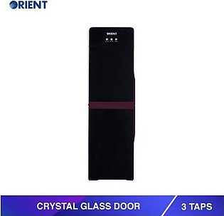 Orient Water Dispenser Crystal Glass Door 3 Taps
