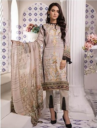 Khas Lawn Collection-Sand Bloom Kc-5055