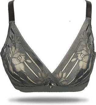 OFW0013 – FANCY DOUBLE PADDED WIRE LESS PUSH UP LACE BRA