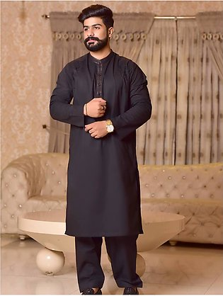 Khas Stores  2 Pcs Eid Collection  Men,s Kurta Shalwar S-6026