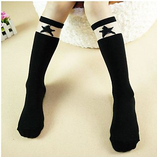Black Star 2019 new children's tube socks girls socks wholesale Korean version …