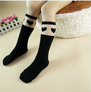 Black Love 2019 new children's tube socks girls socks wholesale Korean version …