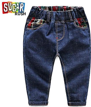 Blue SUGAR RUSH Boys Blue Tied & Dyed Jeans