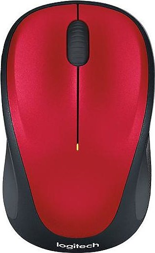 Logitech M235 Wireless Mouse Red 910-003412