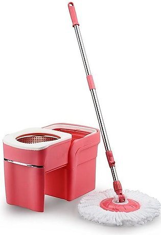 Space Saving 360 Spin Mop - DLP-09S - Pink (1654)