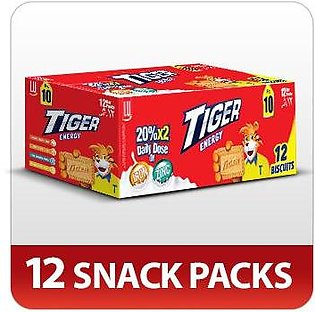 Tiger Energy Biscuits (Pack of 12)