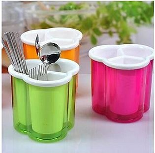Drain Cutlery Container