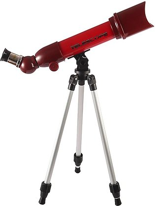 80/60/40*50mm Children Astronomical Telescope Educational Toy - Red