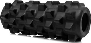 5×13 inch Deluxe Foam Grid Sports Yoga Massage Roller Injury/Physio/Gym/Muscle Repai (Black)