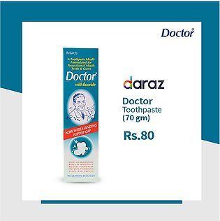 Doctor Toothpaste With Fluoride - 70gms