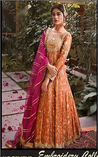Mehsoori Embroidered Suit For Women - Unstitched