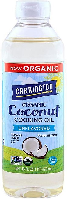 Carrington Farms Organic Coconut Cooking Oil Gluten Free 473ml