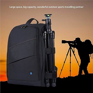 PULUZ Camera Bag Backpack Waterproof Shockproof Camera Bag with rain Cover for …