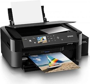 EPSON PRINTER L850 3 IN ONE INK TANK SYTEM (6 COLOR,PHOTO PRINT,SCAN,COPY,CD/DV…