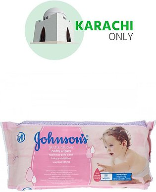Johnspon's Baby Wipes 56 Wipes