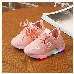 ✫Good Quality✫ Toddler Baby Girs Led Light Shoes Boys Soft Luminous Outdoor Sport LED Sandals