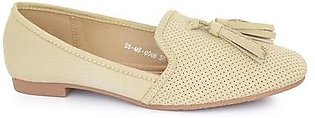 Hush Puppies - SS-MS-0066 - Beige Closed Casual for Women