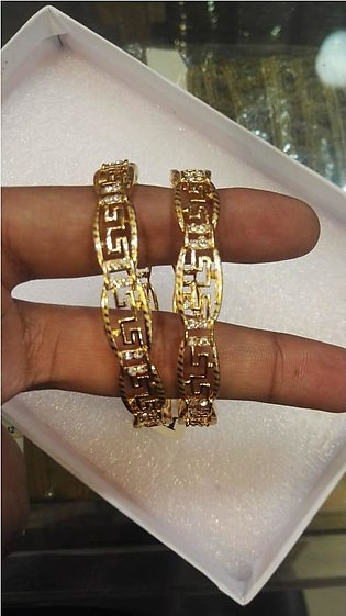 1k Gold plated 2 piece bangles