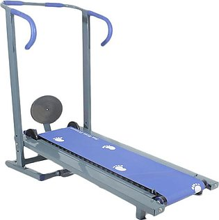 Manual Treadmill - Running Machine with - 21 Rollers