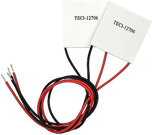 Pack Of 2 - TEC1-12706 Heatsink Thermoelectric Cooler Cooling Peltier Plate M...