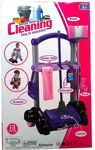 Cleaning Trolley Set