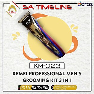 KEMEI TRIMMER KM-023 For Mens with Three Multiple sizes Clippers