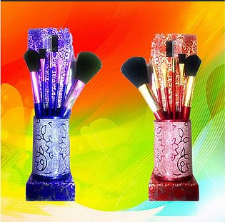 5 Pieces Of Makeup Brushes-Pack Of 2