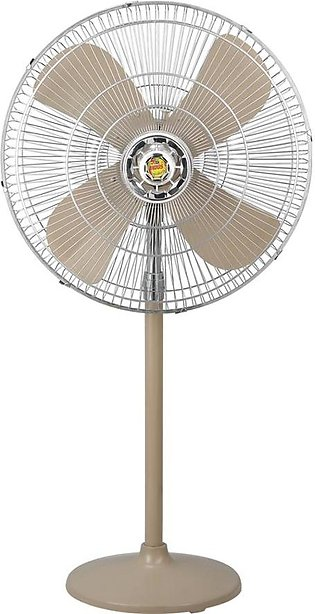 Indus Padestal Fan Deluxe Model-Golden