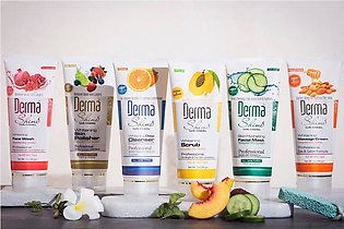Derma Shine Fruit facial kit pack of 6 pcs set (100% original products ) for ...