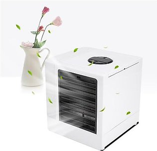 Ultra Air Cooler Portable Air Conditioner with LED USB Mini Desktop Fan