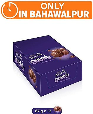 Dairy Milk Bubbly 87g (One Day Delivery in Bhawalpur)