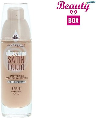 Maybelline Dream Satin Liquid Foundation - 40 Fawn