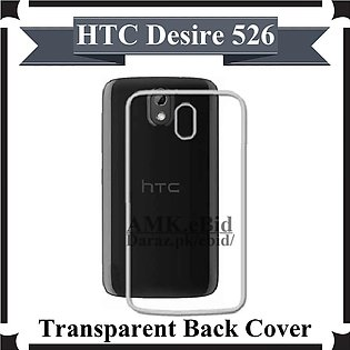 HTC Desire 526 Back Cover Transparent Soft Crystal Clear Case For HTC Desire 526