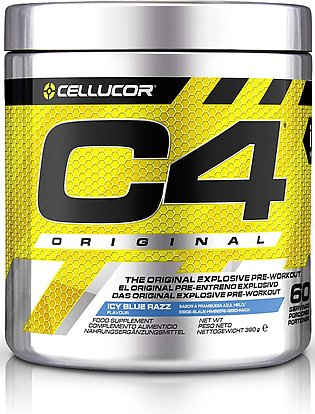 C4 Ripped Blue Raspberry ID Series Pre-Workout - Explosive Energy & Thermogenic…
