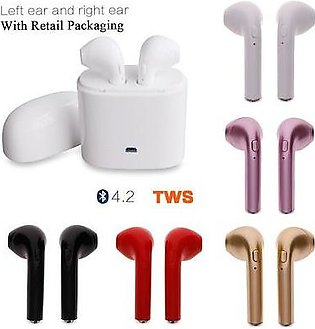 Mini Wireless Bluetooth Portable Mobile Phone Earphone HBQ i7 Single Earphone...