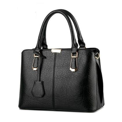 PU Faux Leather Tote Shoulder Bag For Women - Handbags for Woman - Ladies Hand Bags for Girls