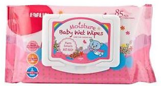 Baby Wipes Anti Rash 85Pcs With Cover (Dt006A)