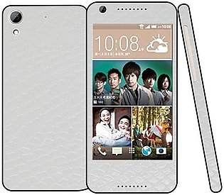 HTC Desire 626  Snake Leather Texture Mobile Skin - White