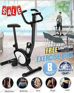 Exercise Bicycle, Magnetic Stationary Fitness Cardio Cycle, For Home and Office