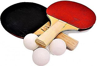 Table Tennis Rackets  Set with 3 Bolls