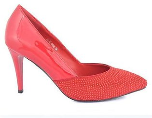 Hush Puppies - SS-HL-0086 - Red Closed Formal for Women