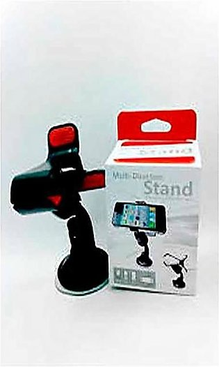 Universal Tablet & Mobile Stand With Multi Options - Black