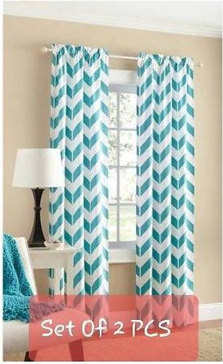 CURTAINS (2 PCS SET) 90 X 90 INCHES ORIGINAL MAINSTAYS SUMMER COLLECTION