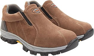 Men's Casual Safety Shoes Steel Toe Slip On Breathable Work Hiking Climbing
