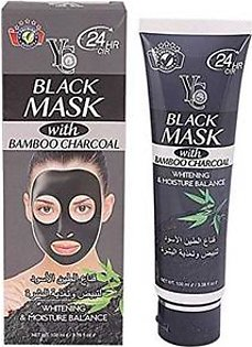 Black Mask And Bamboo Charcoal - 100Ml
